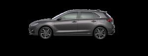 Hyundai i30 boja - Dark Knight