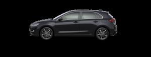 Hyundai i30 boja - Phantom Black