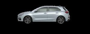 Hyundai i30 boja - Platinum Silver