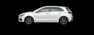 Hyundai i30 boja - Polar White