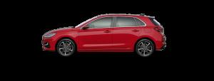 Hyundai i30 boja - Sunset Red
