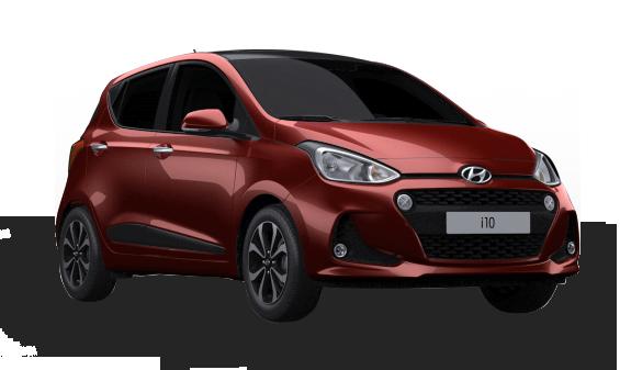 Hyundai i10 crvena