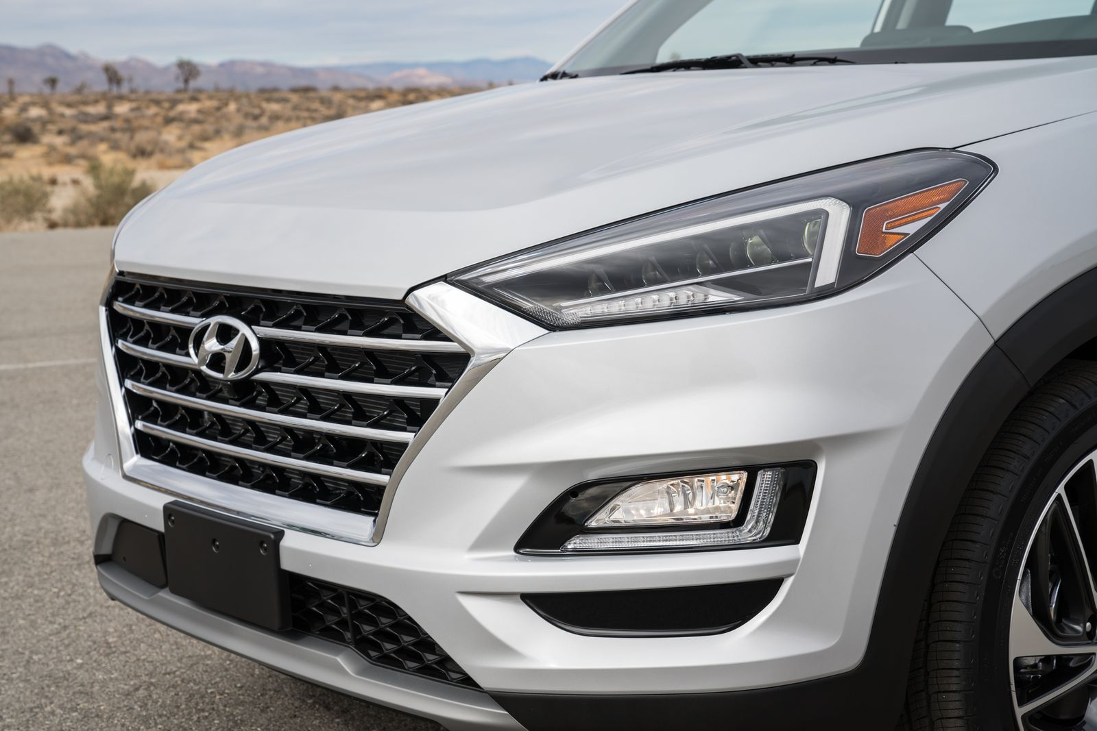 Moderni farovi na Hyundai Tucson modelu iz 2019.