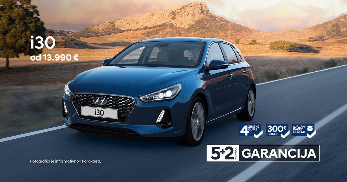 Sjajno opremljen Hyundai i30, sa dodatnim popustom na cenu i zimskim pneumaticima!