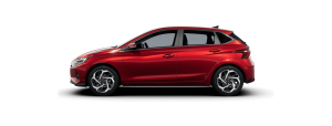 Hyundai i20 boja: Dragon Red