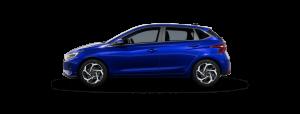 Hyundai i20 boja: Intense Blue