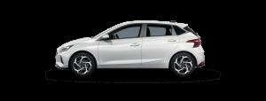 Hyundai i20 boja: Polar White