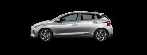 Hyundai i20 boja: Sleek Silver