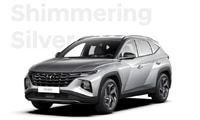 Hyundai Tucson - boja Shimmering Silver