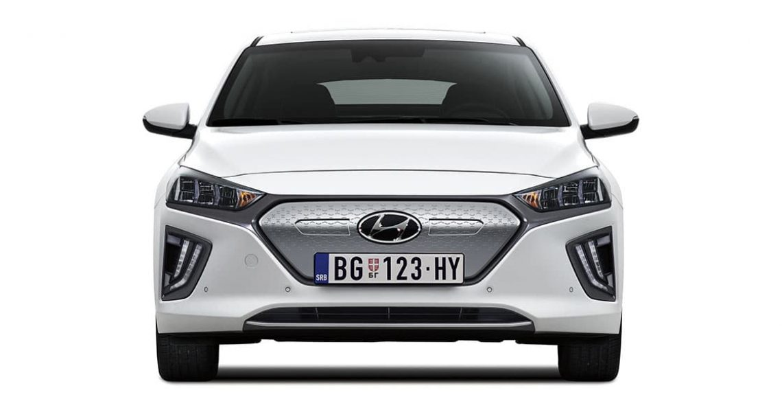 Hyundai IONIQ Electric - jedinstvena rešetka hladnjaka
