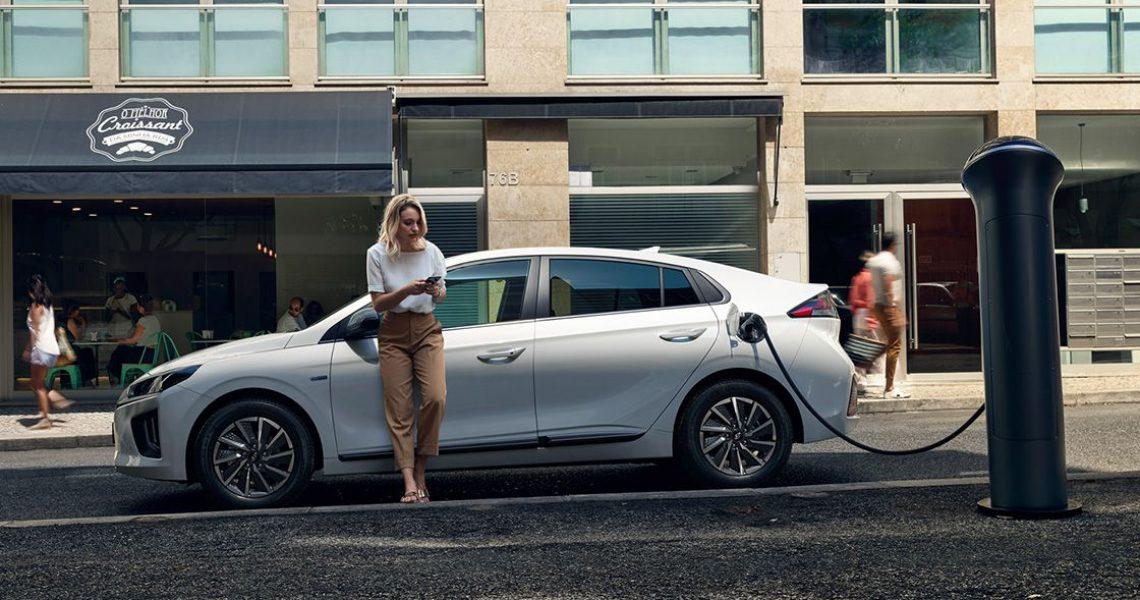 Hyundai IONIQ Electric - napajanje na utičnicu