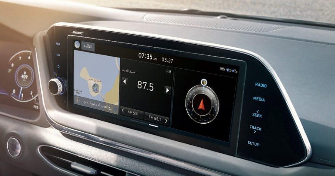 Hyundai Sonata - udobnost