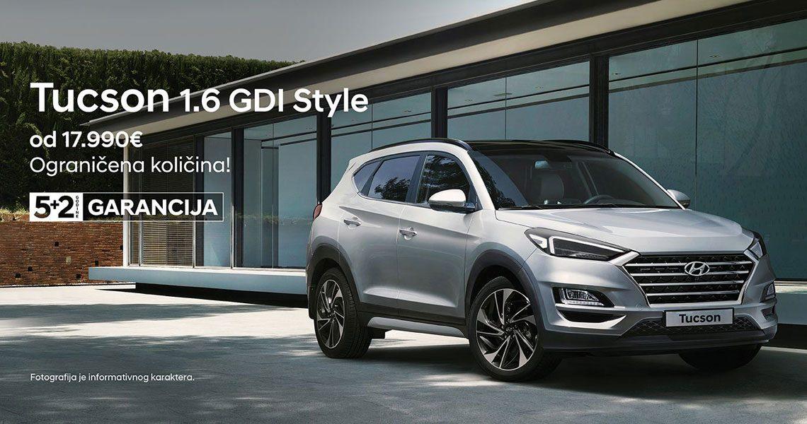 Hyundai Tucson - posebna ponuda