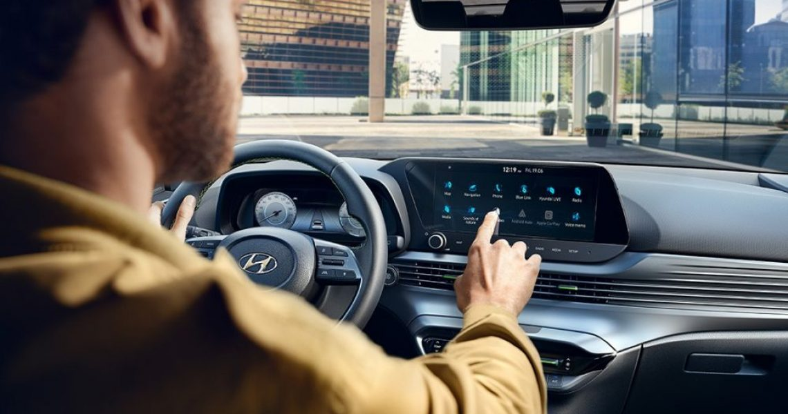 Hyundai i20 - unutrašnjost