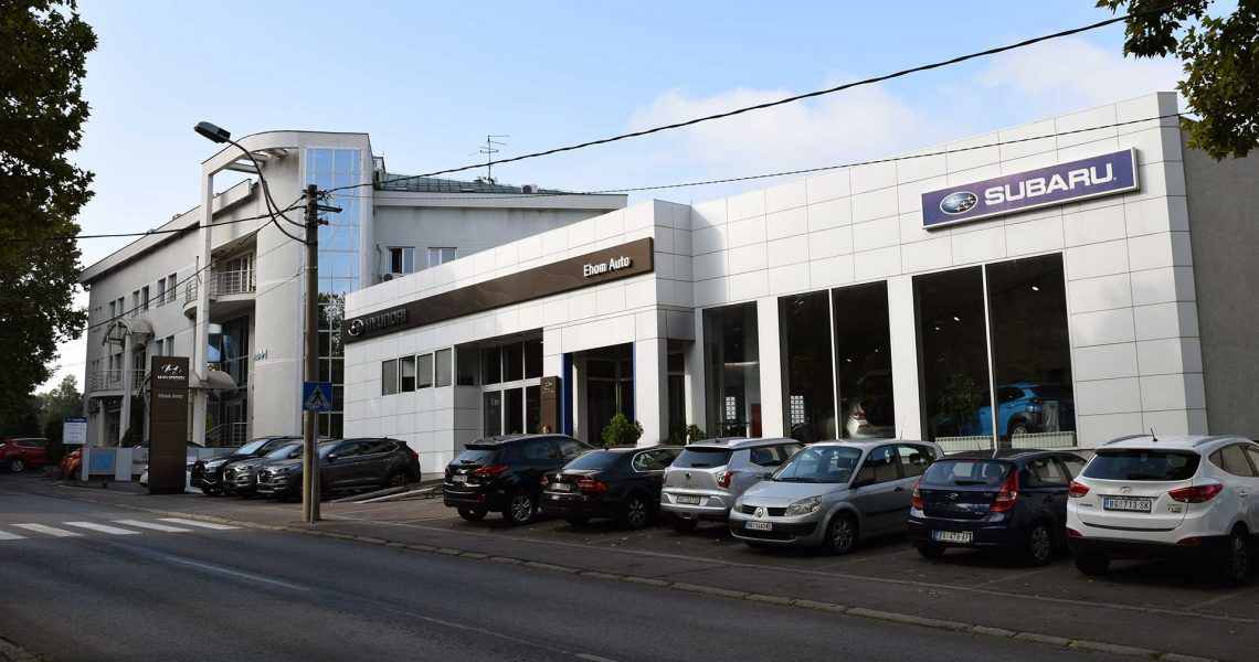 Ehom Auto Salon - spolja 3