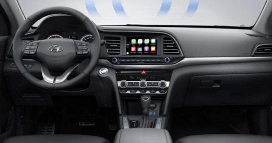 Hyundai Elantra - sistem protiv magljenja stakla