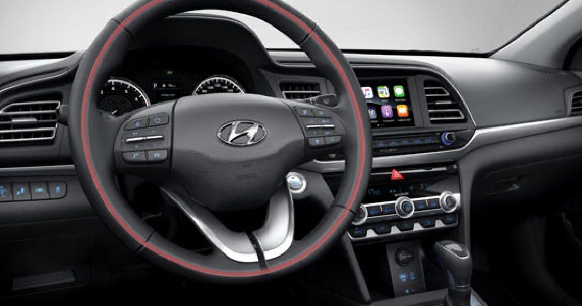 Hyundai Elantra - oprema enterijera 1