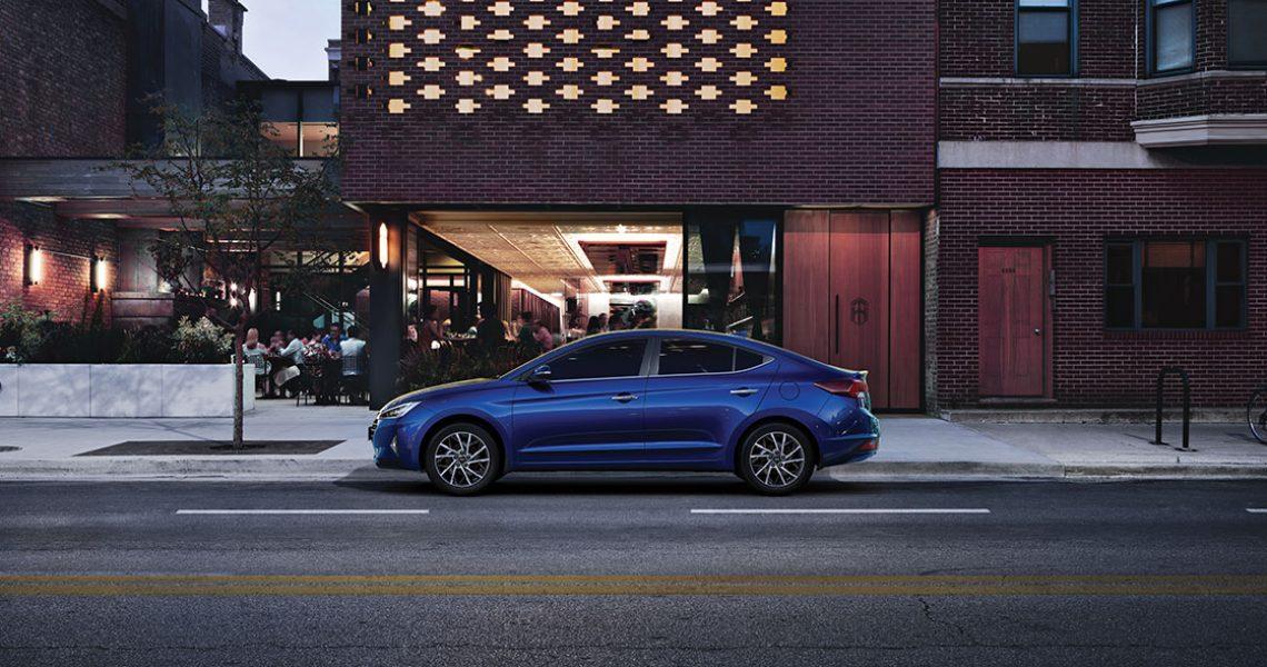 Hyundai Elantra - dizajn bočnog dela