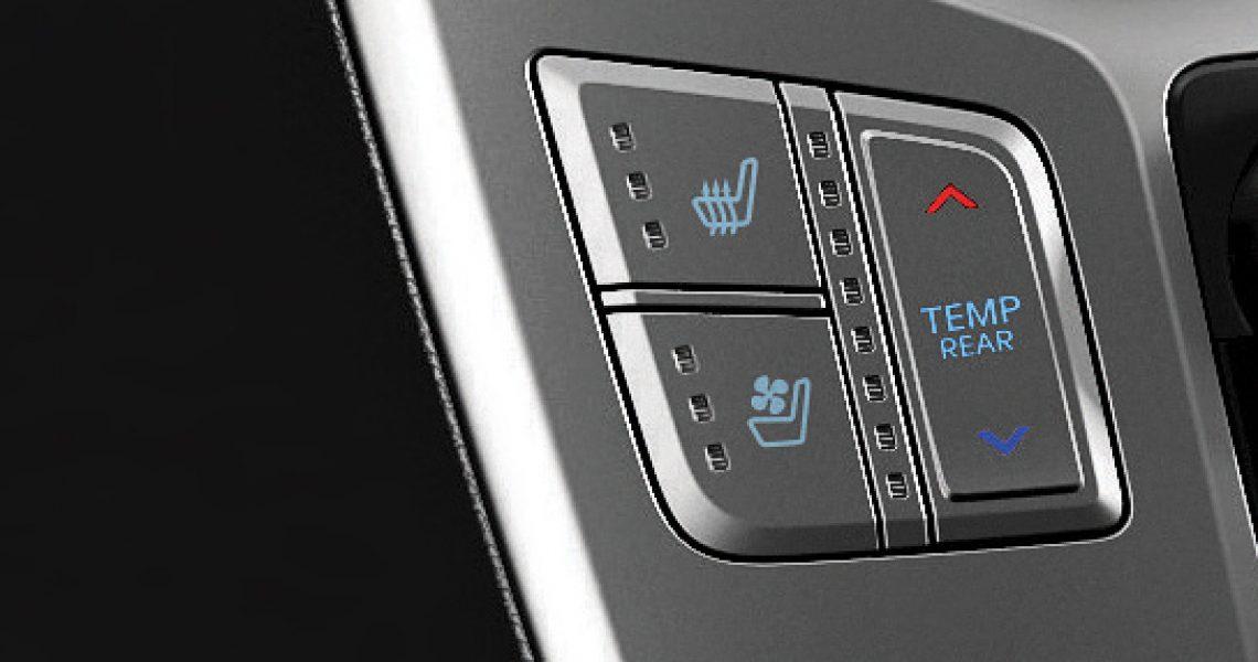 Hyundai H-1 - kontrolisana ventilacija vazduha