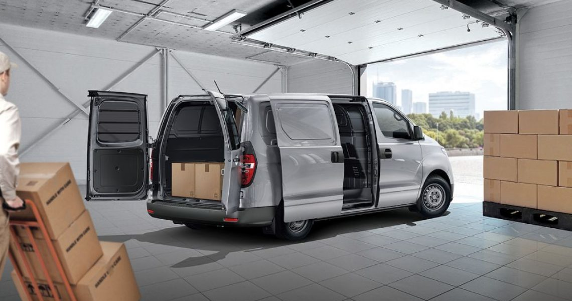 Hyundai H-1 - skladištenje i do 800 kg tereta