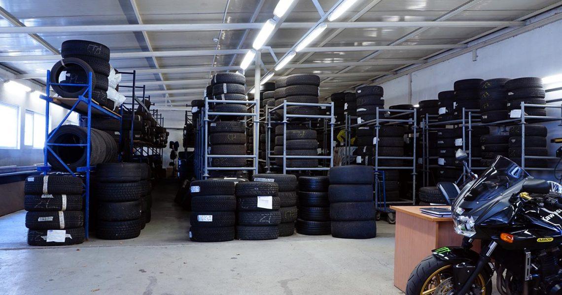Veliki broj mesta za sve tipove guma