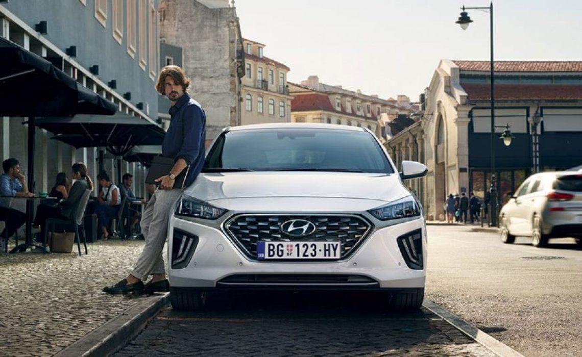 Hyundai IONIQ Hybrid sa lakoćom se uklapa u urbani ambijent