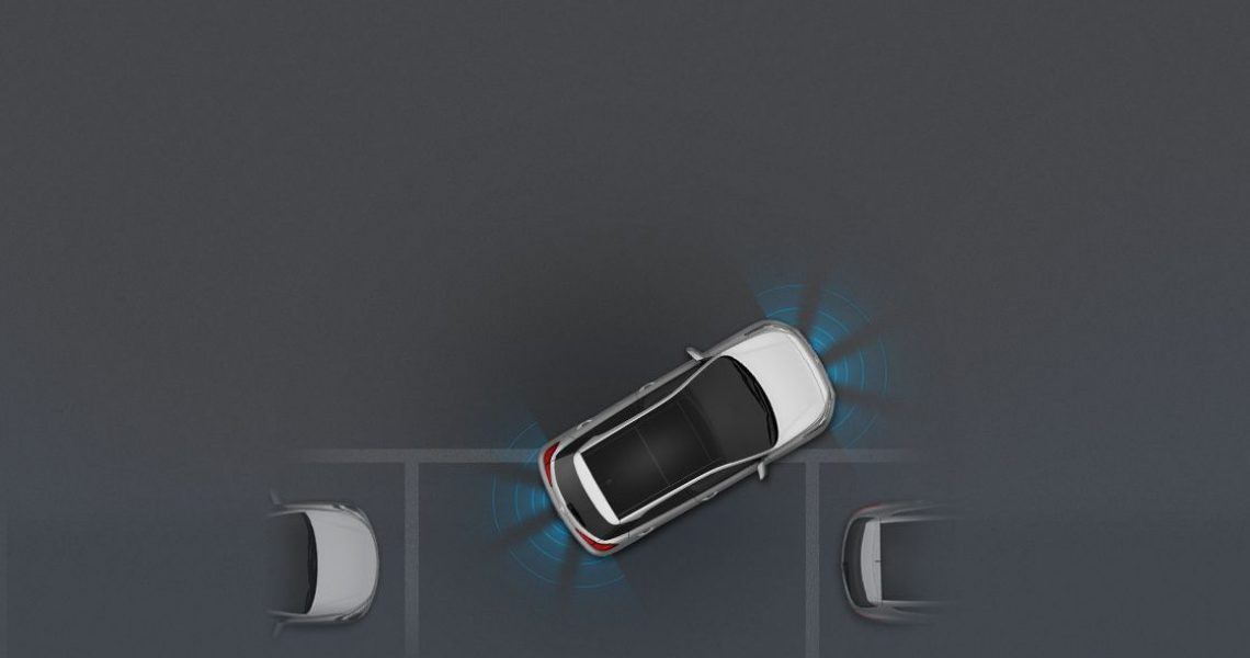 Maksimalna lakoća parkiranja uz pomoć signalizacije od strane senzora za uparkiravanje
