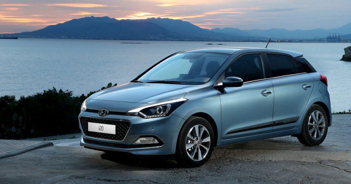 Hyundai i20 - atraktivna paleta boja, od bele i crne do crvene