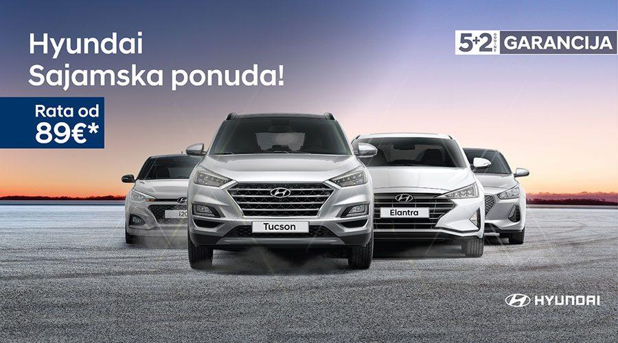 Specijalna sajamska ponuda novih Hyundai vozila