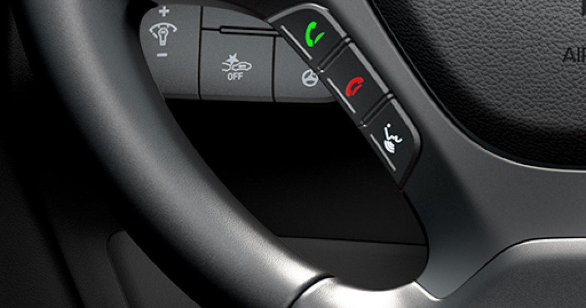 Hyundai i10 - tasteri za Bluetooth uređaj