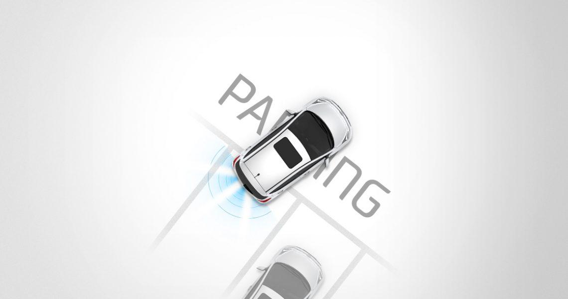 Hyundai i10 - sistem za pomaganje pri parkiranju