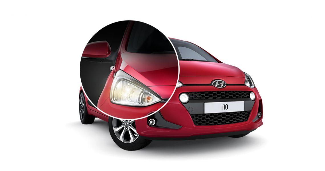 Hyundai i10 - LED svetla prednjih farova 1