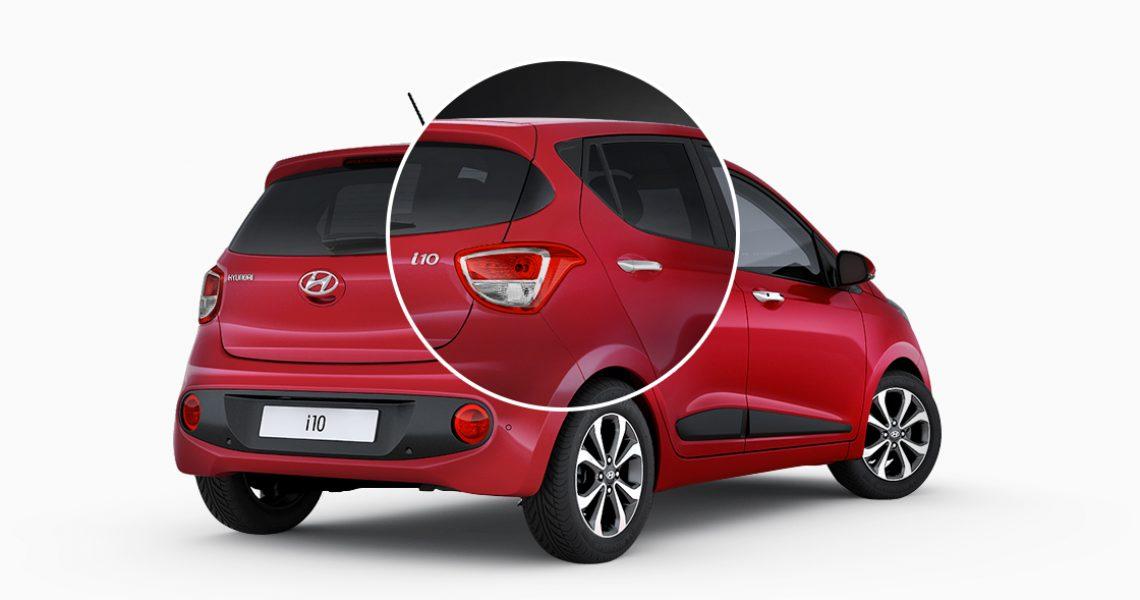 Hyundai i10 - dizajn zadnjeg fara 1