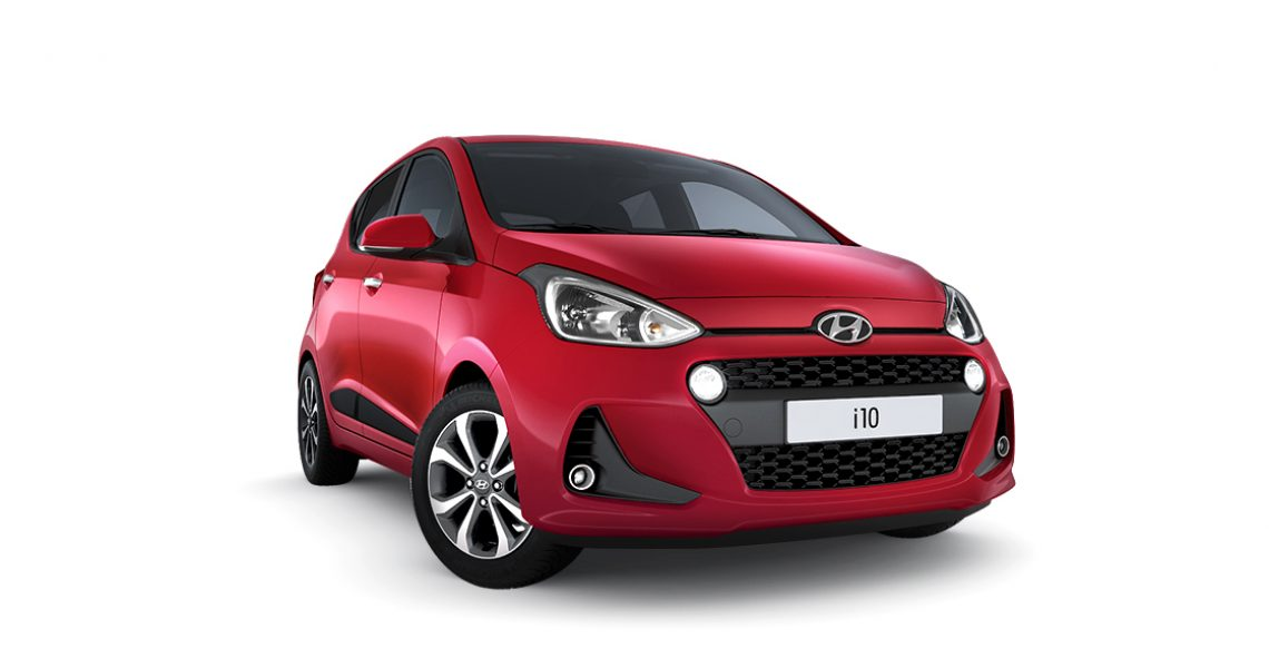 Hyundai i10 - prednji izgled bočnog dela 1