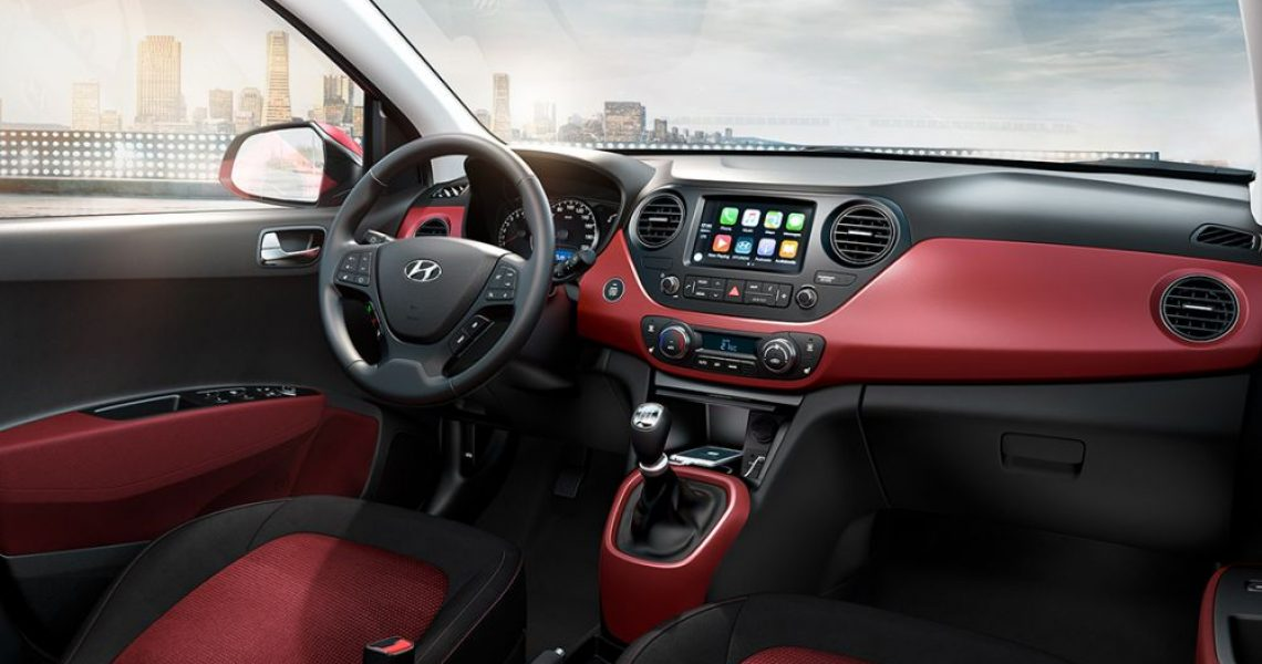 Hyundai i10 - dizajn i oprema enterijera