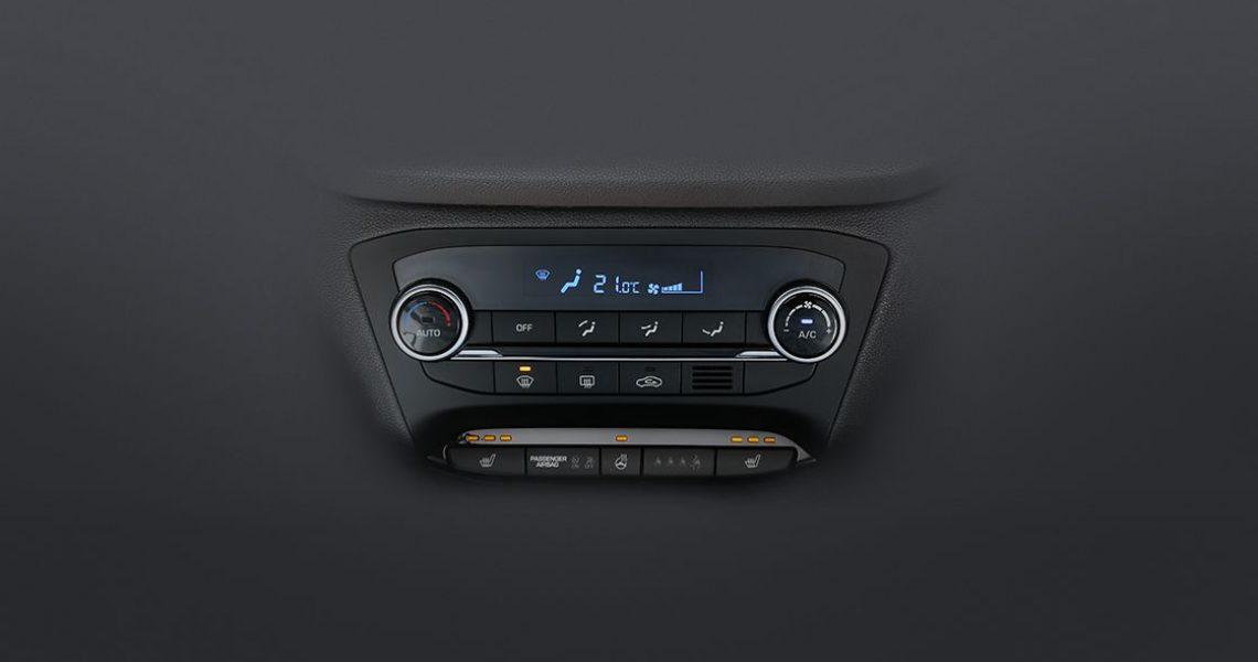 Hyundai i20 - sistem za kontrolu ventilacije