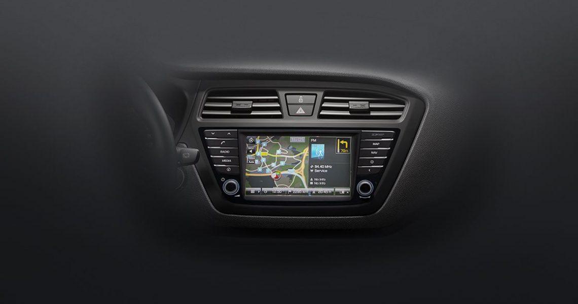 Hyundai i20 - navigacioni sistem