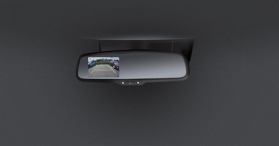 Hyundai i20 - zadnja kamera na displeju retrovizora