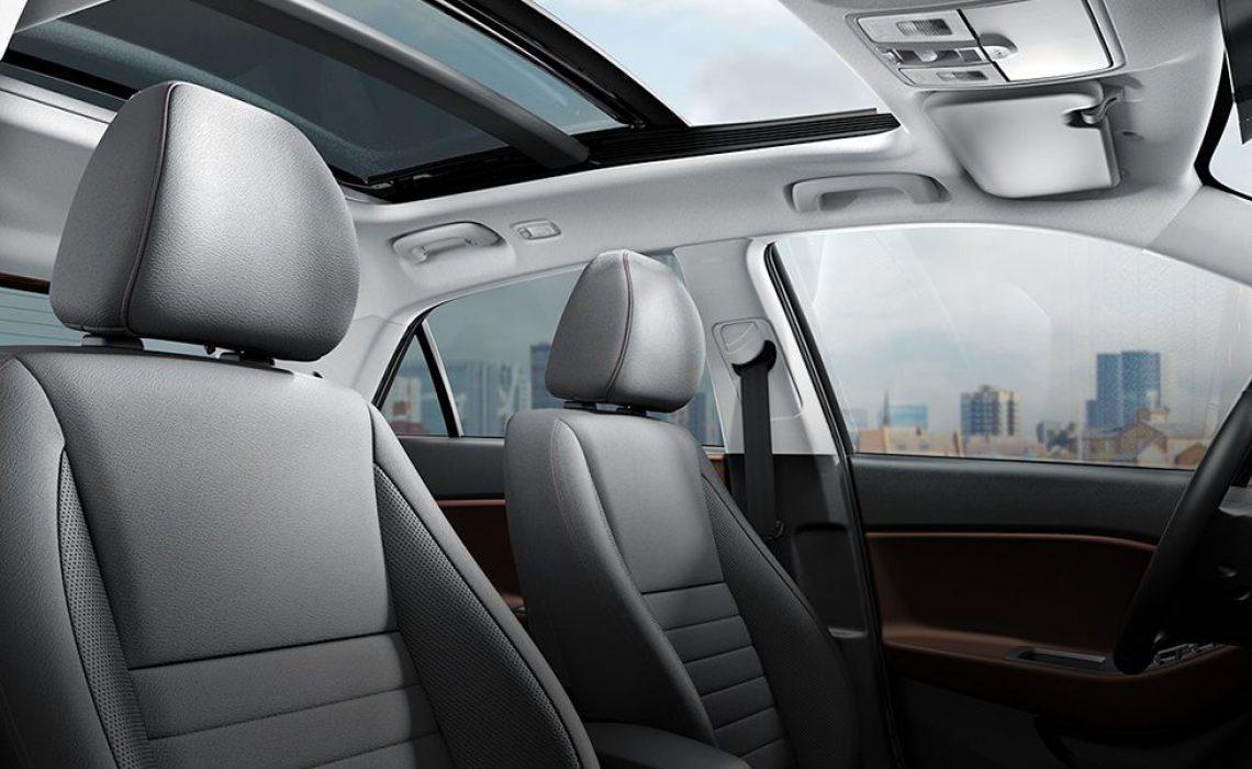 Hyundai i20 Van - dizajn sedišta