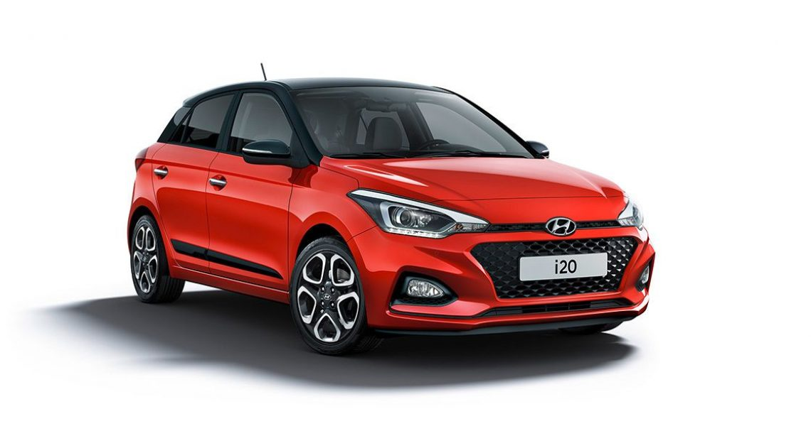 Hyundai i20 - prednji izgled bočnog dela