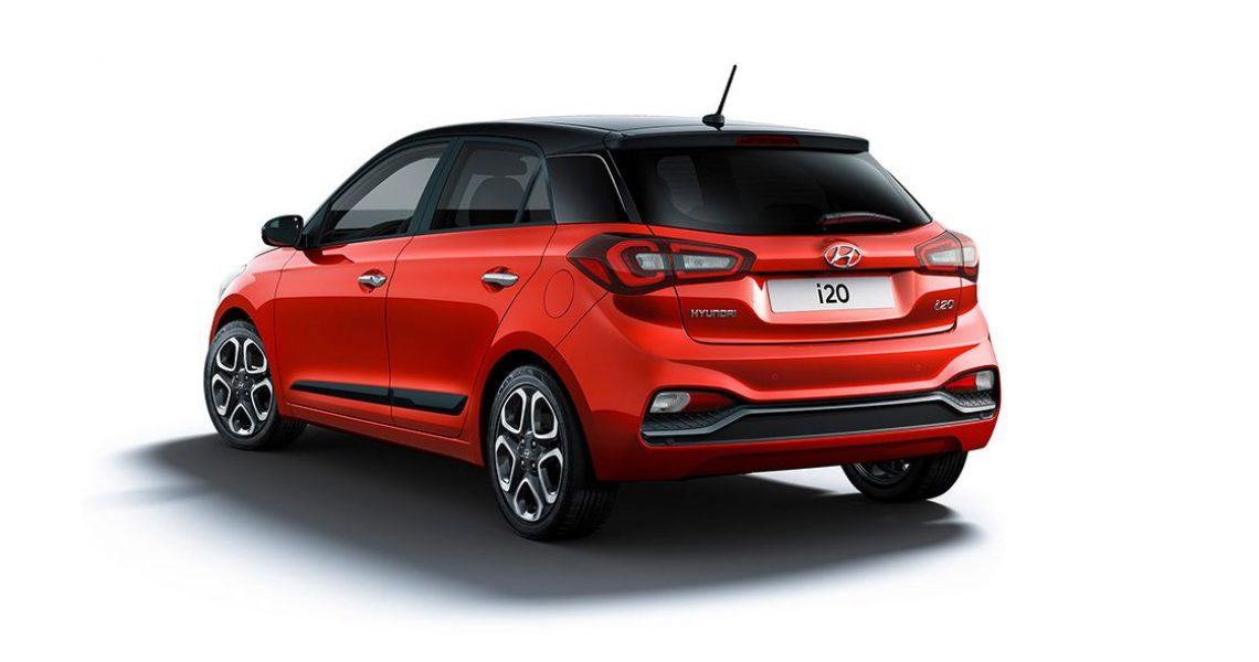 Hyundai i20 - zadnji izgled bočnog dela
