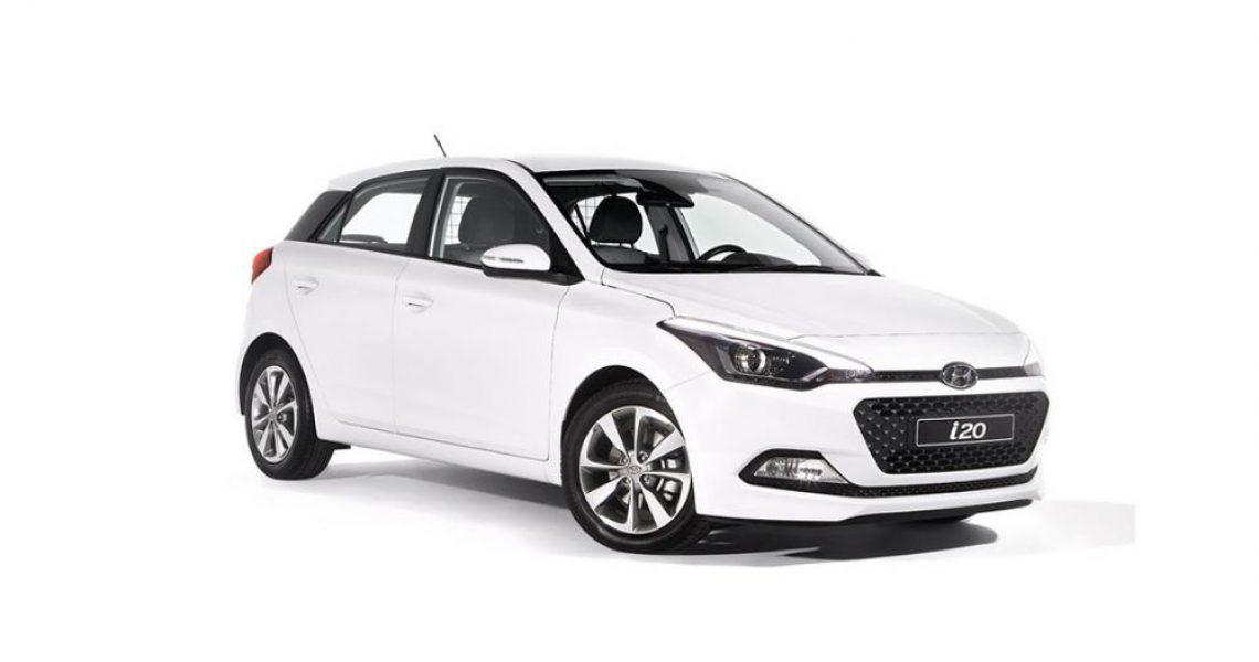 Hyundai i20 Van - prednji izgled sa bočne strane