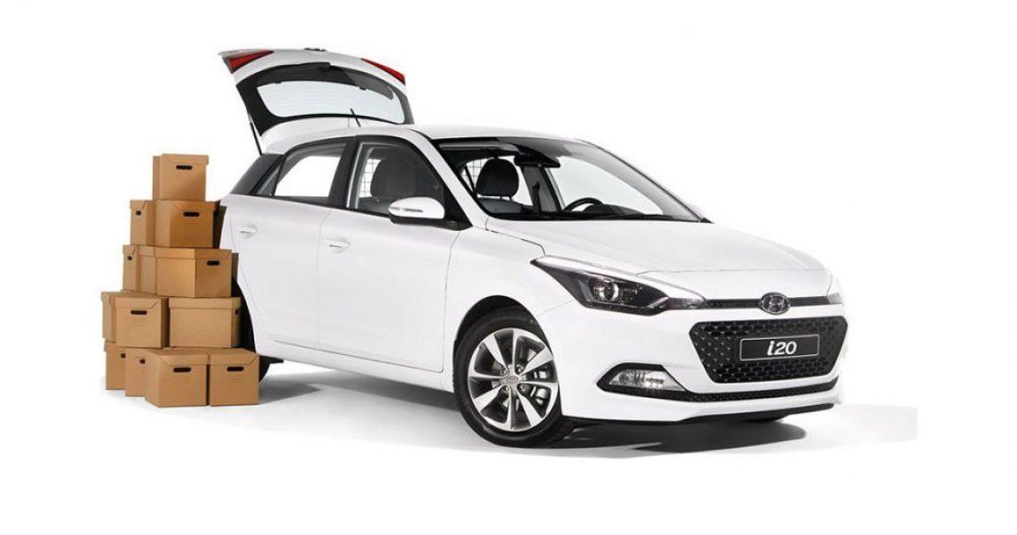 Hyundai i20 Van - dizajn modela i prtljag