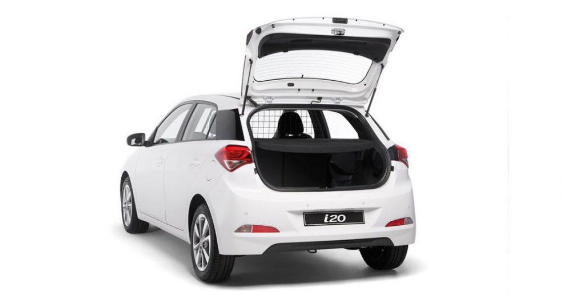 Hyundai i20 Van - izgled zadnjeg dela