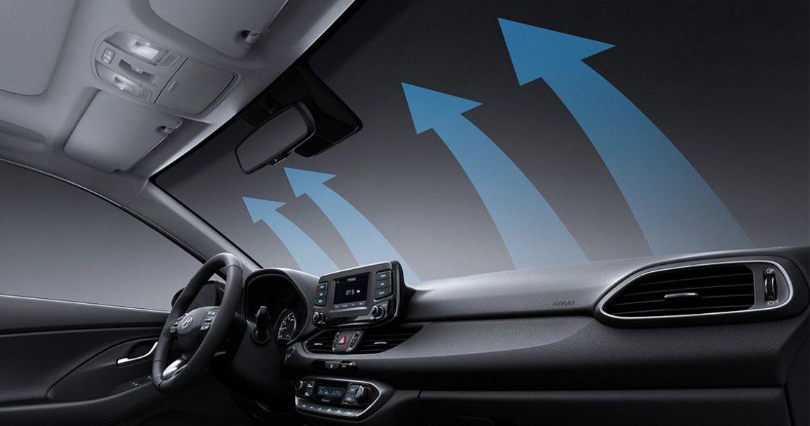 Hyundai i30 - sistem za automatsko odmagljivanje stakla
