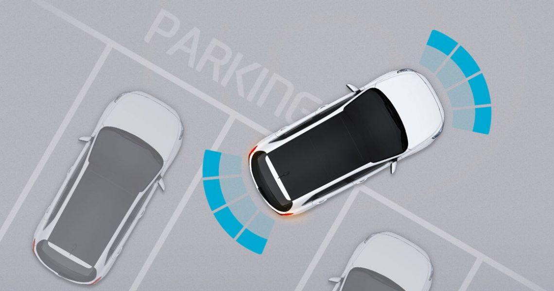Hyundai i30 - senzori za pomoć pri parkiranju