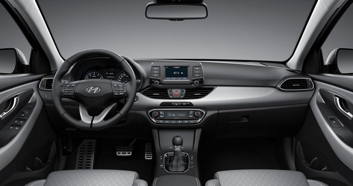 Hyundai i30 - dizajn enterijera