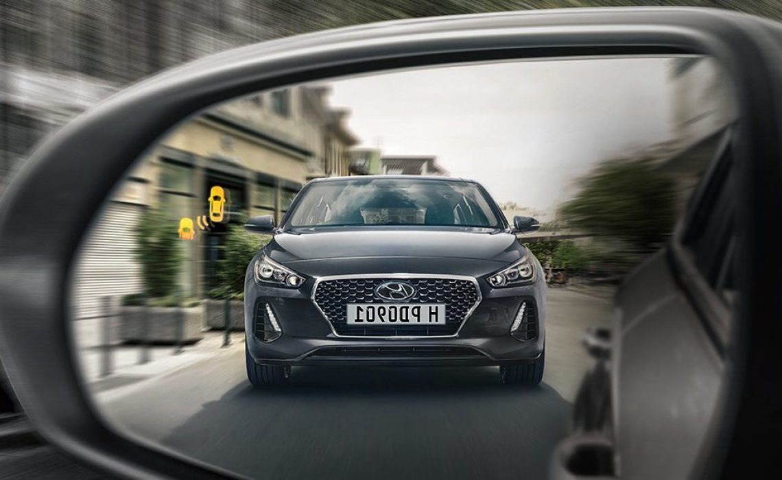 Hyundai i30 - senzor mrtvog ugla
