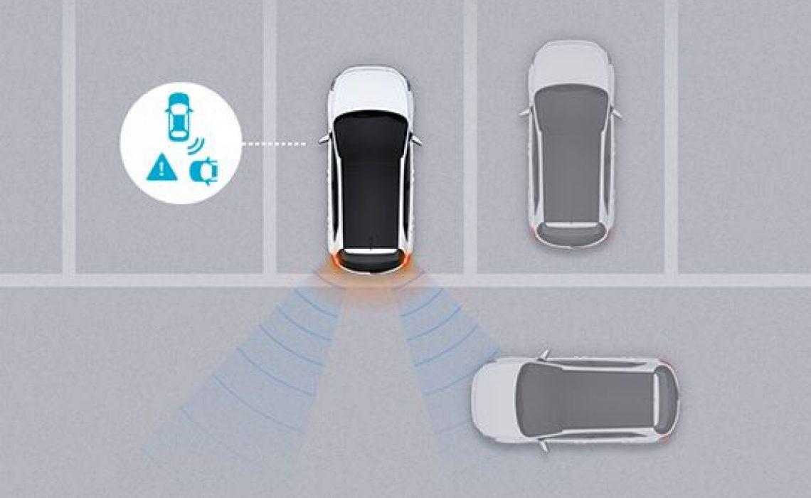 Hyundai i30 - sistem za uočavanje vozila u mrtvom uglu (RCTA)
