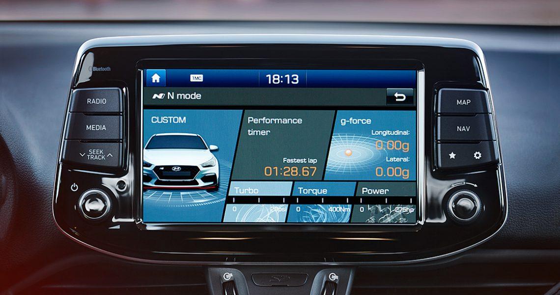 Hyundai i30 N - informacije o performansama vozila